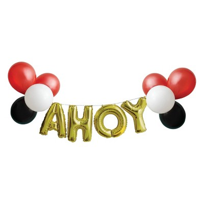 Pirate Cove Ahoy Party Decoration Balloon Pack - Spritz™
