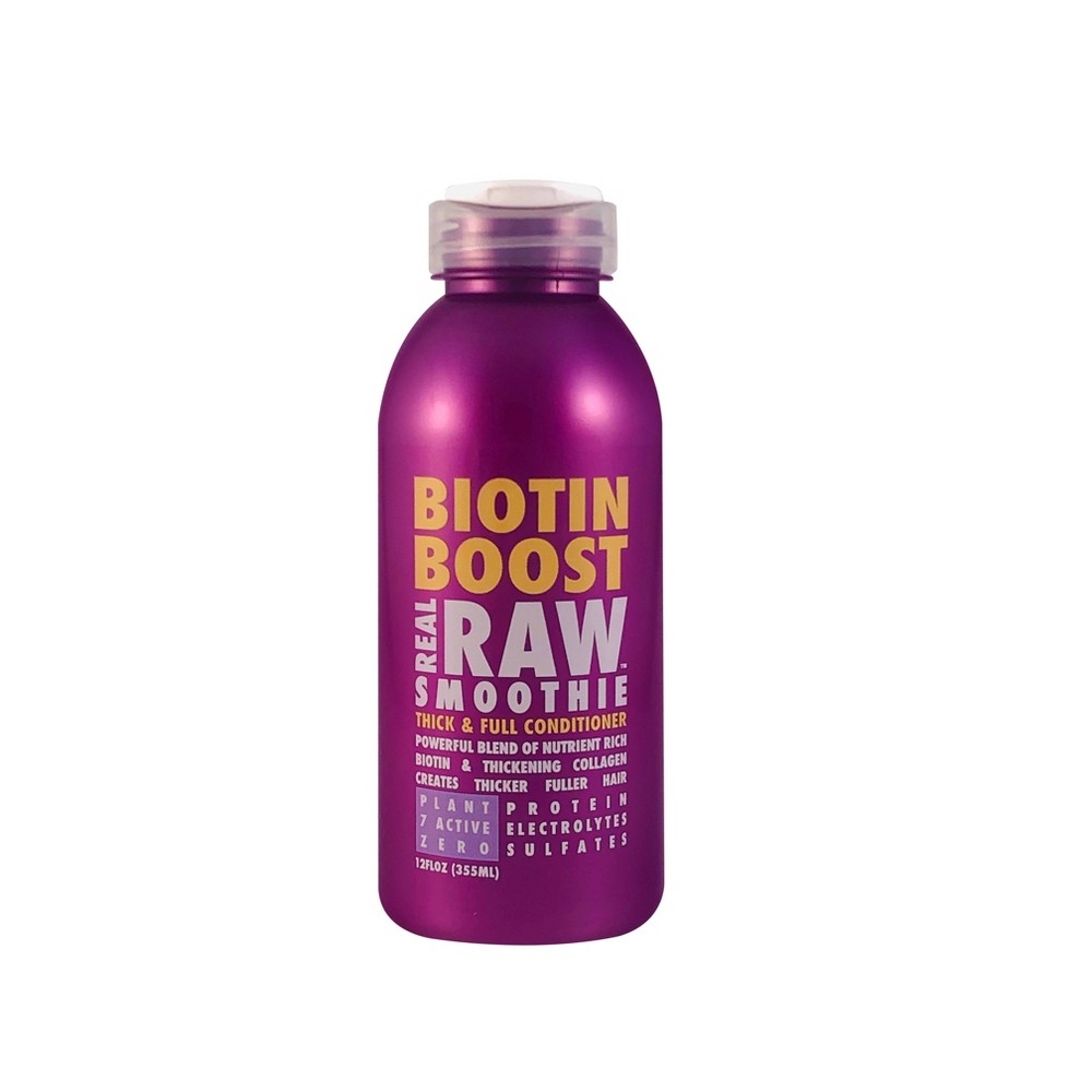 Image of Real Raw Smoothie Biotin Boost Thick & Full Conditioner - 12 fl oz