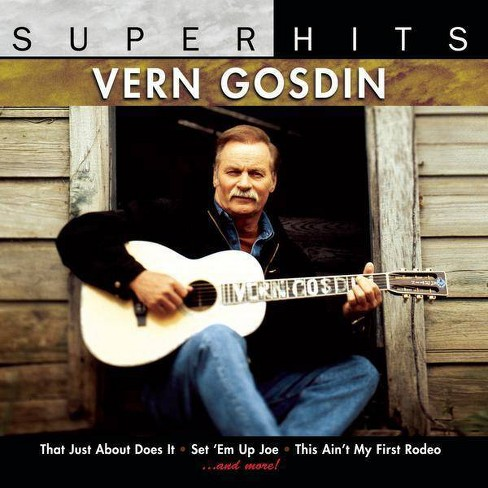Vern Gosdin - Super Hits (CD) - image 1 of 2