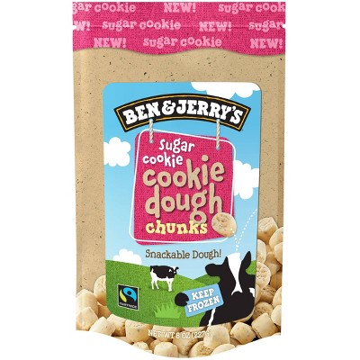 Ben & Jerry's Frozen Sugar Cookie Dough Chunks - 8oz
