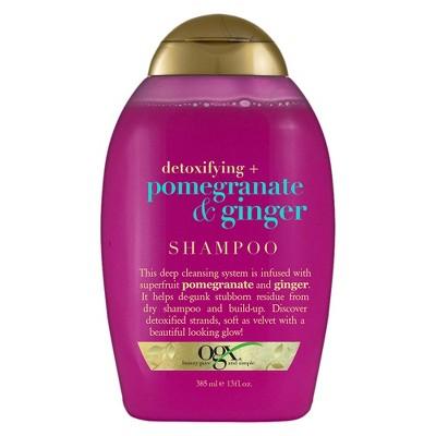 Shampoo & Conditioner: OGX Pomegranate & Ginger