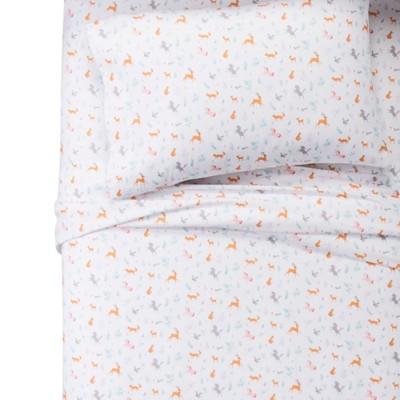 Twin Forest Animals 100% Cotton Sheet Set - Pillowfort™