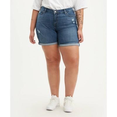 Levi's® Women's Plus Size New Jean Shorts - Hawaii Ocean