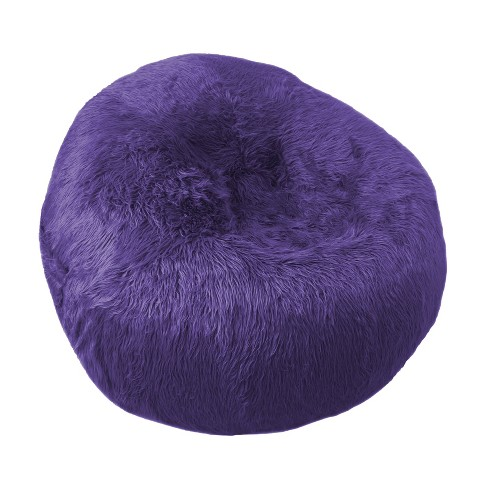 Amazing Galaxy Faux Fur Inflatable Chair Purple Iron Cloud Inzonedesignstudio Interior Chair Design Inzonedesignstudiocom