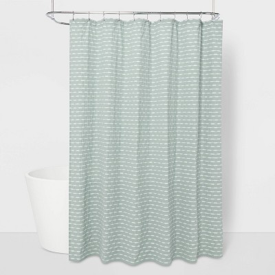 Textured Striped Shower Curtain - Project 62™