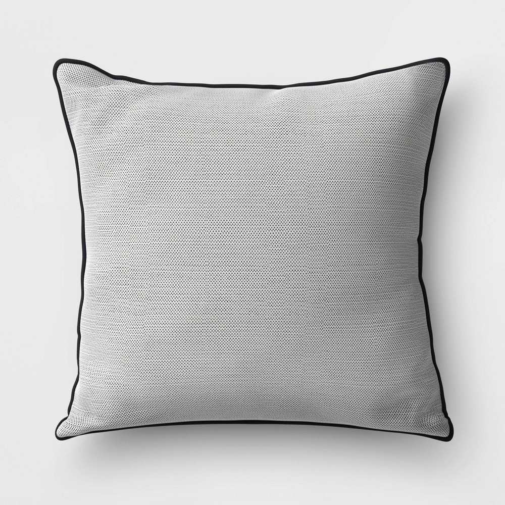 Outdoor Throw Pillow Gray Project 62 8482