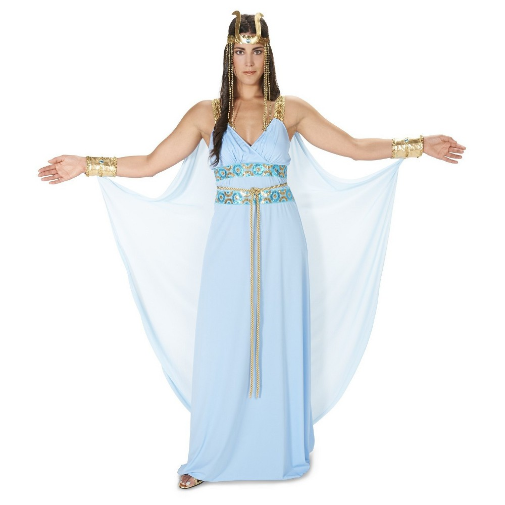 Image of Halloween Divine Egyptian Goddess Women's Costume - Medium, MultiColored