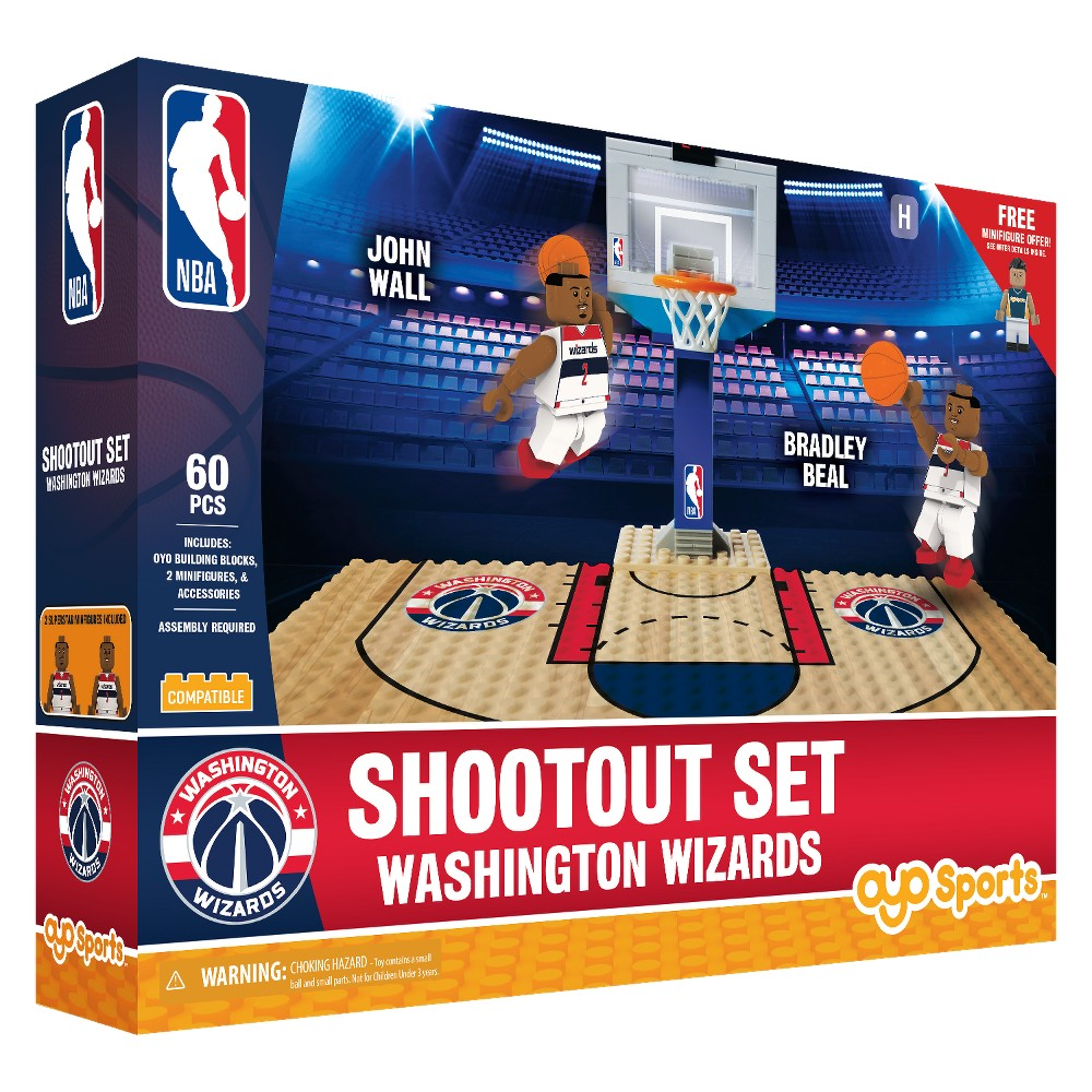 NBA Washington Wizards Shootout Set