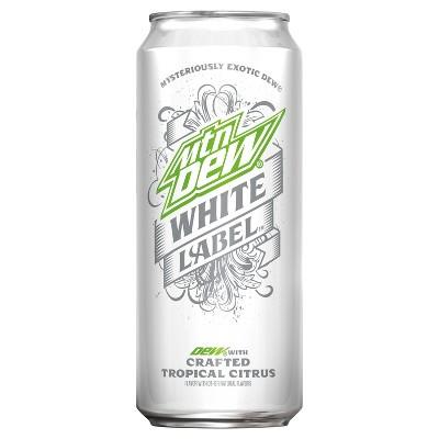 Soft Drinks: Mountain Dew White Label