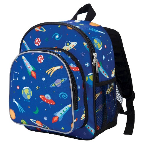 "Wildkin Olive 12"" Kids' Out of this World Pack 'n Snack Backpack - image 1 of 1"