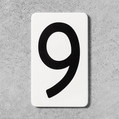 9 House Number Plate - Hearth & Hand™ with Magnolia