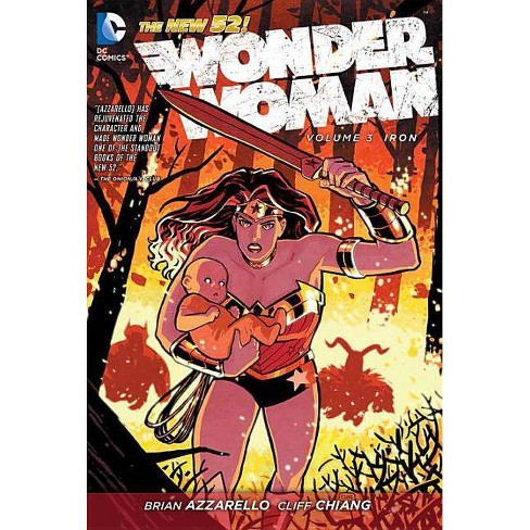 Iron - (Wonder Woman (DC Comics Numbered)) by  Brian Azzarello (Hardcover) - image 1 of 1