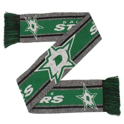 NHL Dallas Stars Gray Big Logo Scarf