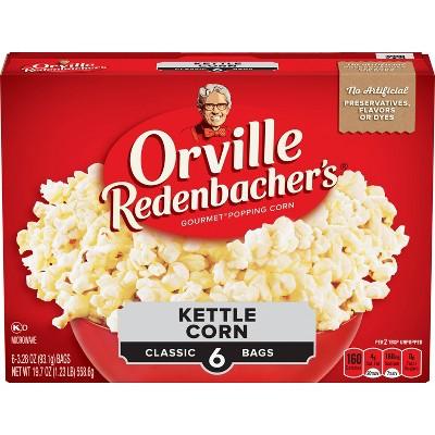 Orville Redenbacher's Microwave Kettle Korn - 6ct