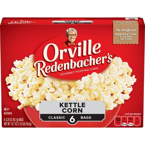 Orville Redenbacher's Microwave Kettle Korn - 6ct - image 1 of 4