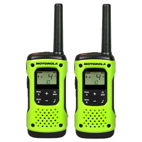 Motorola Talkabout T605 2 Pack Bundle - Neon Green (T605) - image 1 of 12