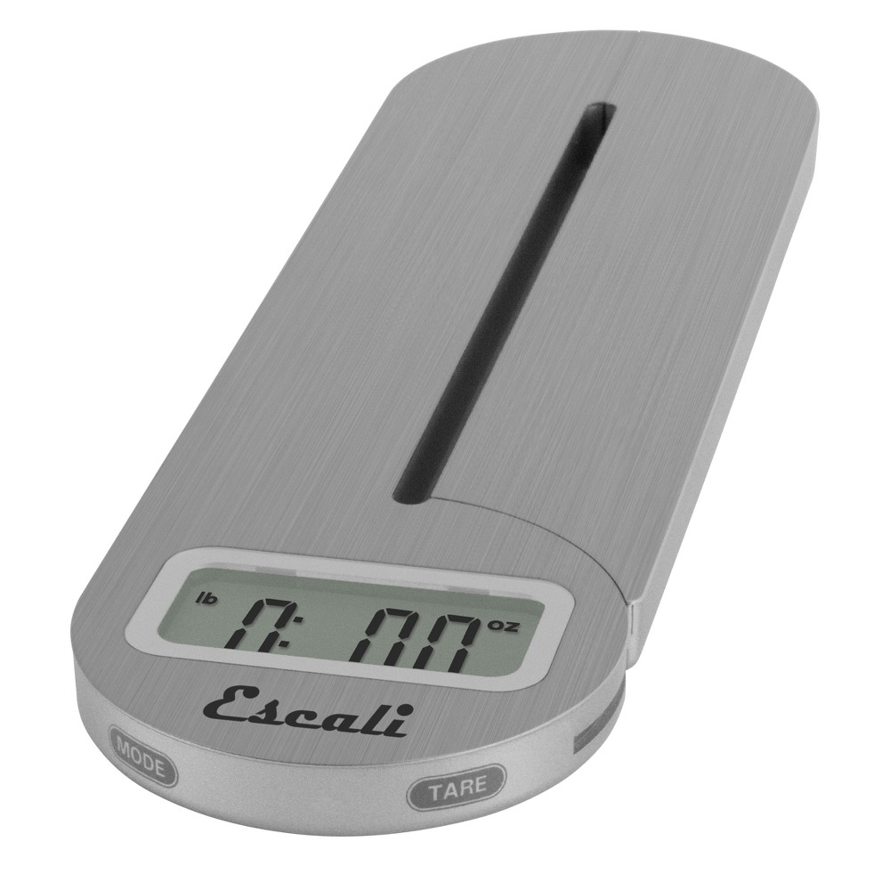 Image of Escali Fold and Store Digital Scale Silver