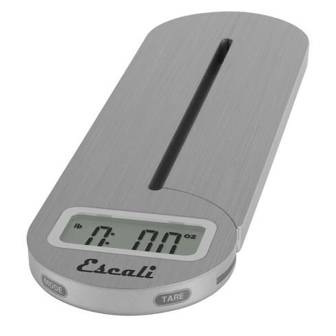 Escali Fold and Store Digital Scale Silver