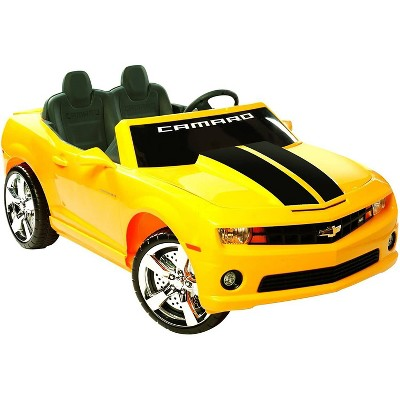 Kid Motorz 12V Racing Camaro Two Seater Powered Ride-On - Yellow