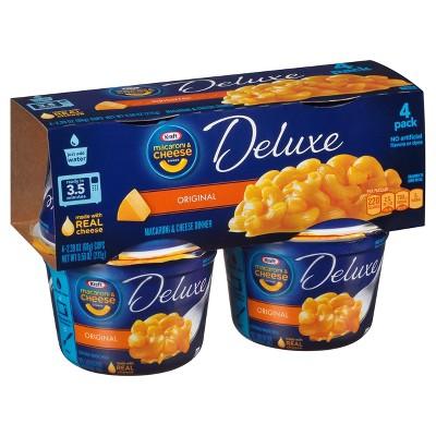Mac & Cheese: Kraft Deluxe Microwaveable