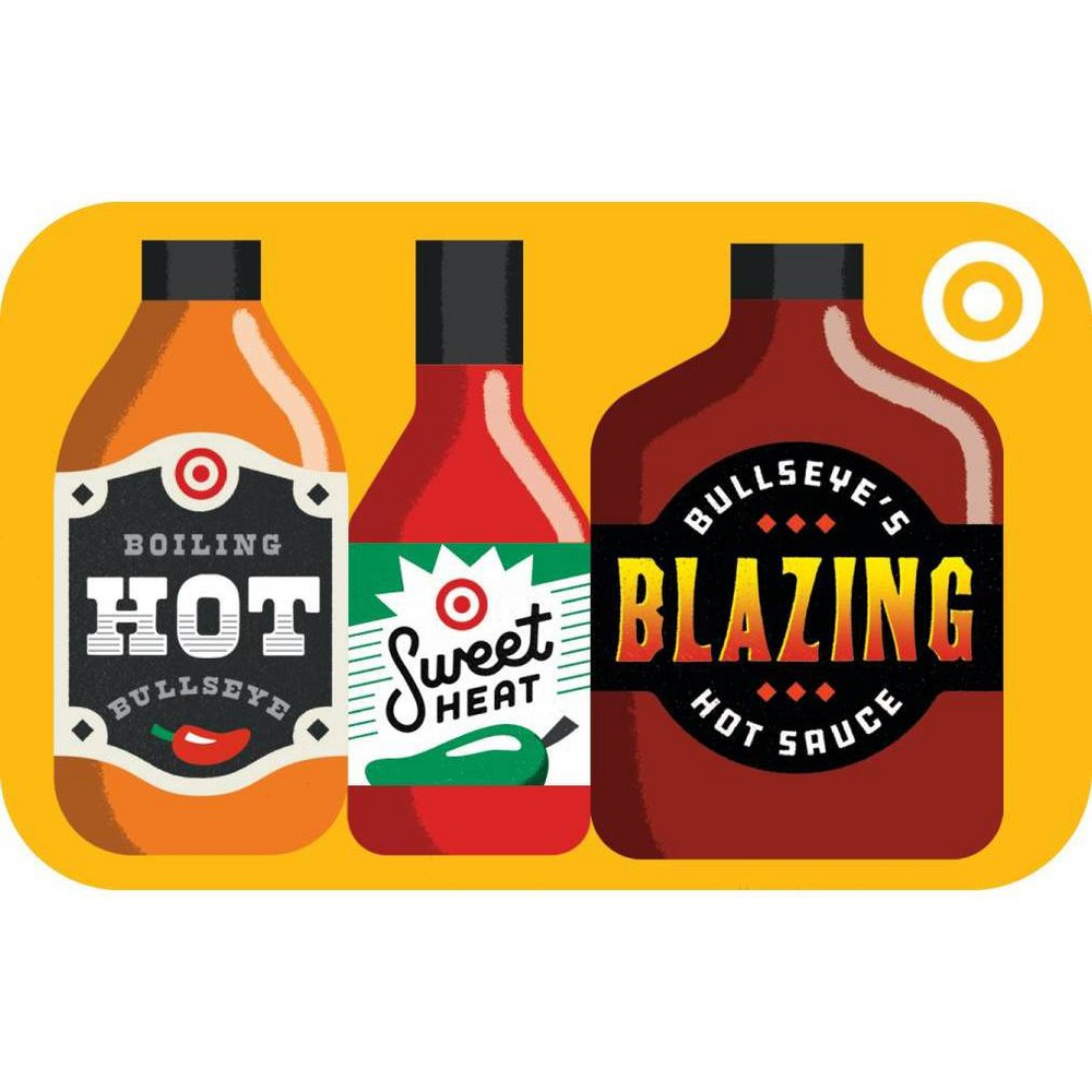 Hot Sauce $200 GiftCard, Target Giftcards