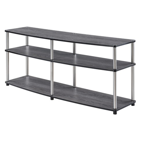 "Designs2Go 3 Tier 60"" TV Stand Weathered Gray - Johar - image 1 of 3"