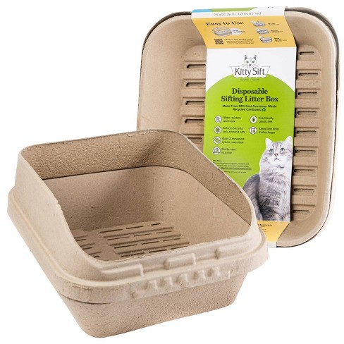 Kitty Sift Disposable Sifting Cat Litter Box Jumbo Target