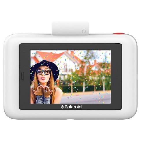 d976294b0cb07 Polaroid Snap Touch Digital Instant Camera - White (POLSTW)   Target