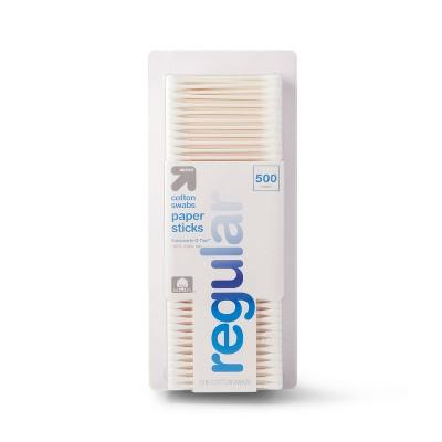 Regular Cotton Swabs Paper Sticks - 500ct - up & up™