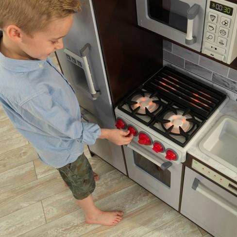 83df9a64ff50e KidKraft Uptown Elite Espresso Play Kitchen   Target