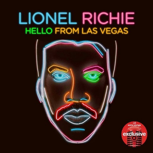 Lionel Richie - Hello From Las Vegas ( Target Exclusive , CD ) - image 1 of 1