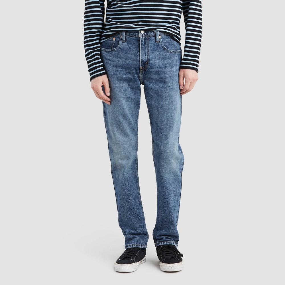 Levi 39 S 174 Men 39 S 502 8482 Taper Fit Jeans Blue Comet 33x32