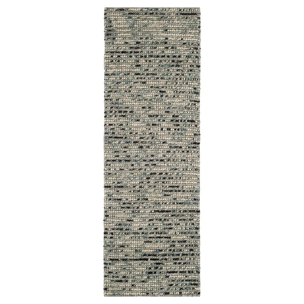 Gray Multi Stripes Tufted Runner 2 39 6 34 X8 39 Runner Safavieh