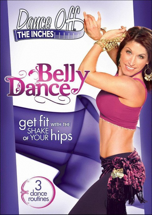 Dance Off The Inches:Belly Dance (DVD) - image 1 of 1