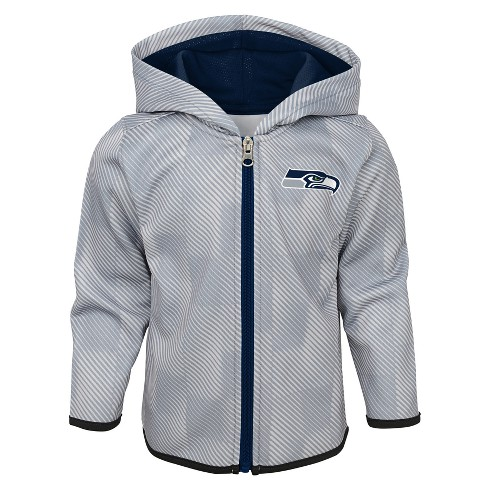 info for d90ff 7a95e Seattle Seahawks Toddler Cheer Loud Sublimated Full Zip Hoodie 12 M