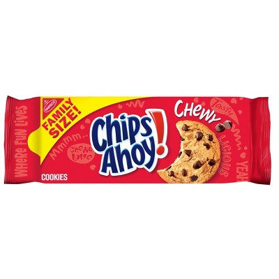 Chips Ahoy! Chocolate Chip - Chewy Cookies - Family Size - 19.5oz