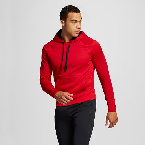 Men's Tech Fleece Pullover Hoodie - C9 Champion® Red L - image 1 of 2