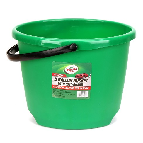 """12L 12""""x14"""" Bucket with Grit Guard Green - Turtle Wax - image 1 of 3"""