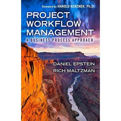 Project Workflow Management - by  Dan Epstein & Rich Maltzman (Hardcover) - image 1 of 1