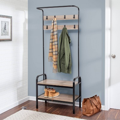 Honey-Can-Do Entry Rack & Bench