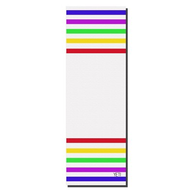 Yeti Yoga Mat - White/Red (6mm)