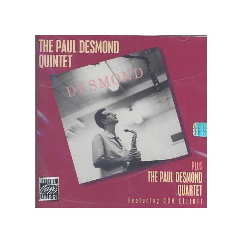 Paul Desmond - Paul Desmond Quintet and Voices (CD) - image 1 of 1