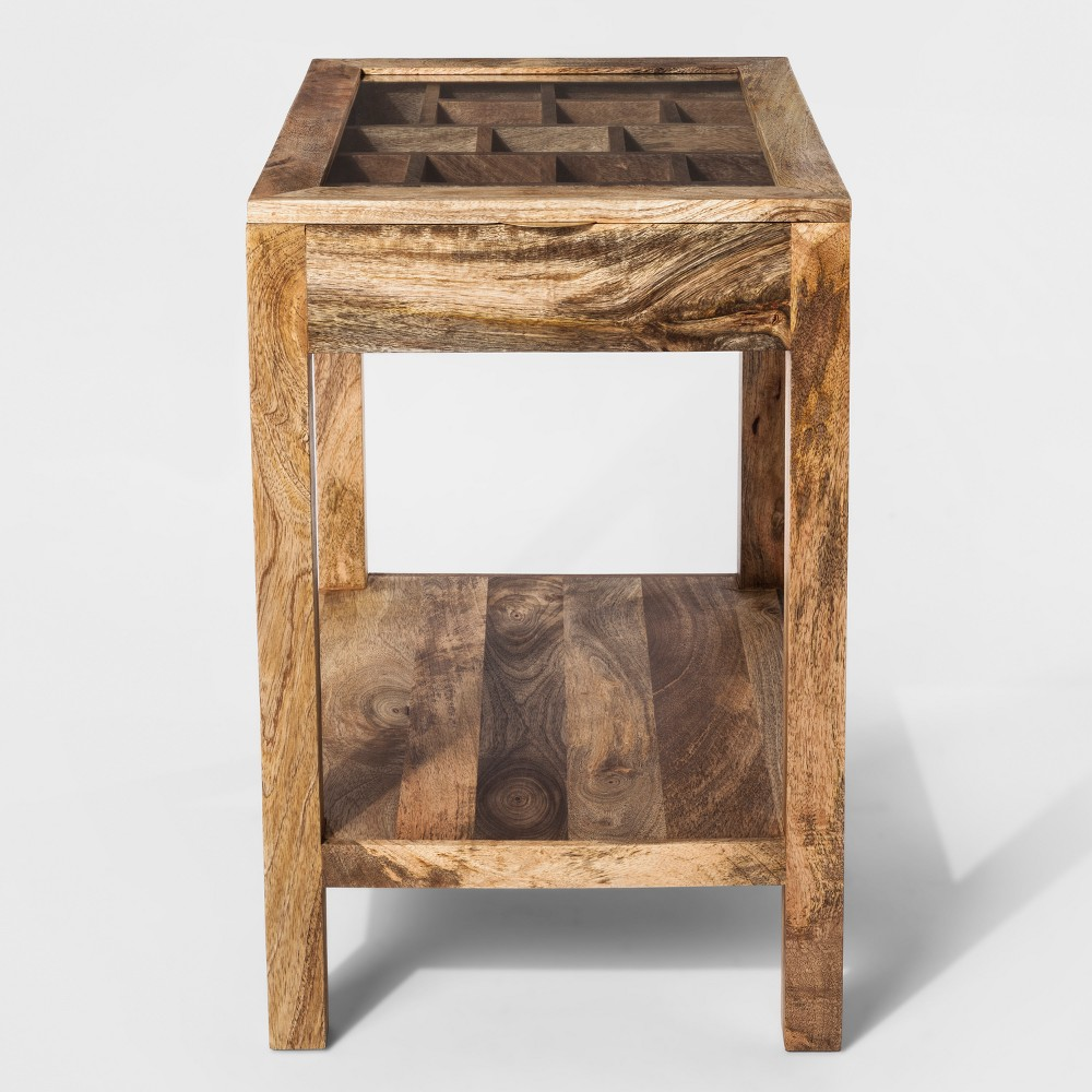 Wooden Display Accent Table - Threshold, Natural