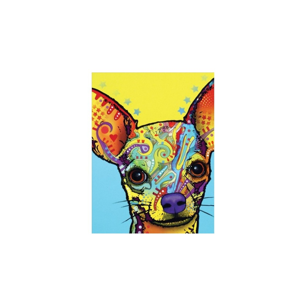 Dean Russo Chihuahua Journal - (Hardcover)