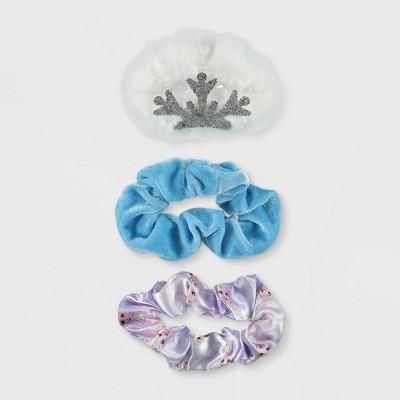 Girls' Disney Frozen 3pc Scrunchie Set