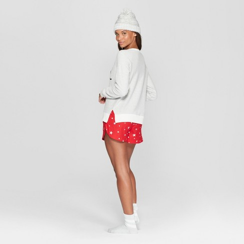 a6d75189a5 Women s Shine Bright 4pc Pajama Set - Xhilaration™ White   Target