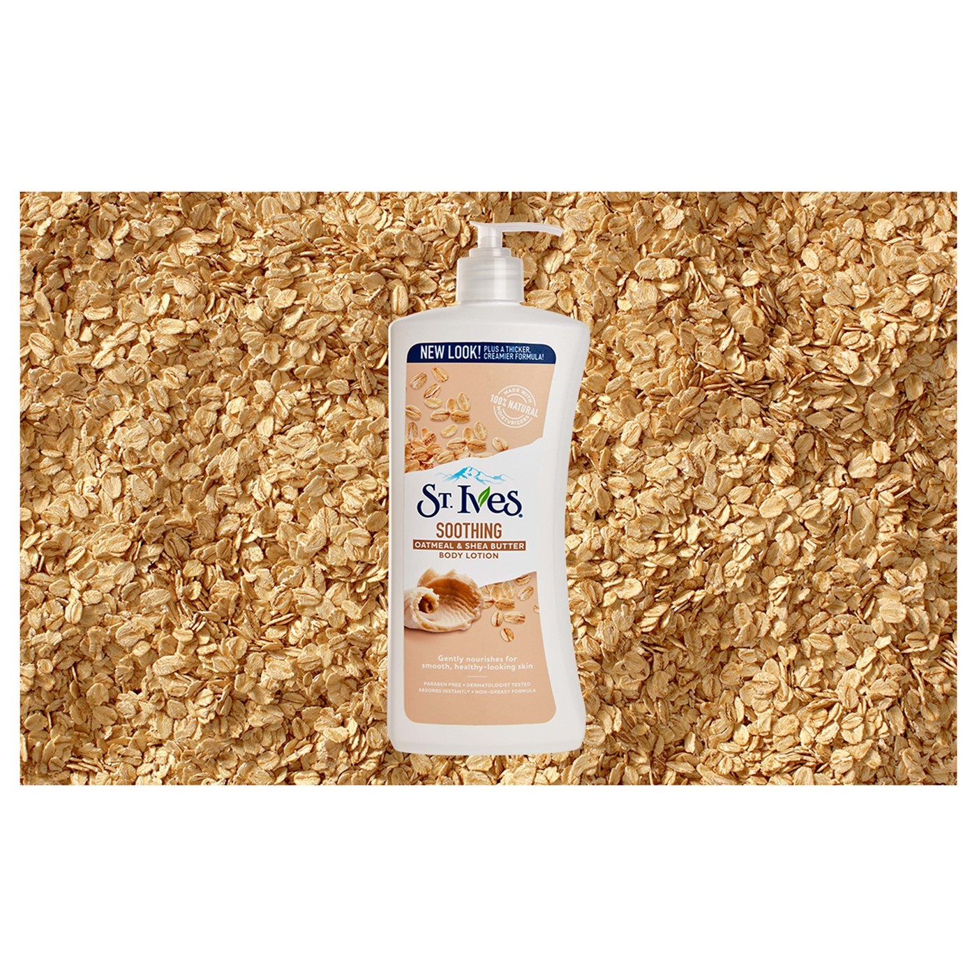 St. Ives Nourish and Soothe Oatmeal and Shea Butter Body Lotion 21 oz - image 5 of 7