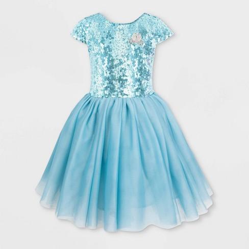 Girls' Disney Cindy Fancy Dress - Blue - Disney Store - image 1 of 2