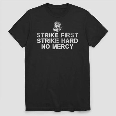 Men's Netflix Cobra Kai Short Sleeve Graphic Crewneck T-Shirt - Black