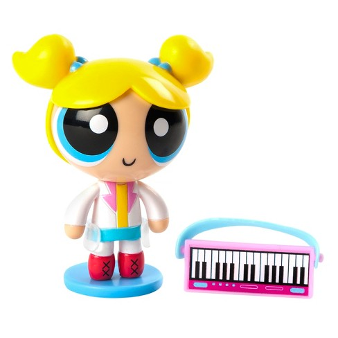 "The Powerpuff Girls 2"" Action Doll with Stand Bubbles with Keyboard by Spin Master - image 1 of 2"